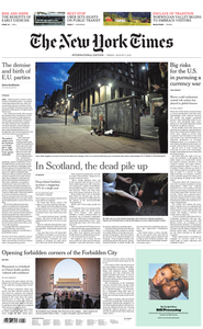 International New York Times - 09 August 2019