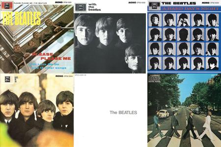 The Beatles: Collection (1963 - 1969) [7CD, 1983 & 1987, Toshiba-EMI Japan]