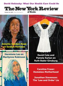 The New York Review of Books - October 22, 2020