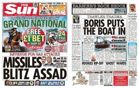 The Sun UK – 14 April 2018