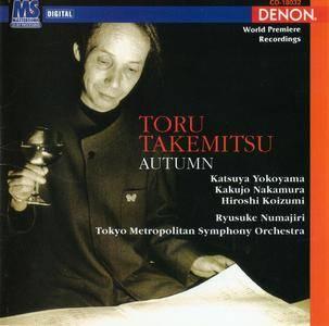 Tokyo Metropolitan SO, Ryusuke Numajiri - Toru Takemitsu: Orchestral Works III: Autumn, etc. (1997)