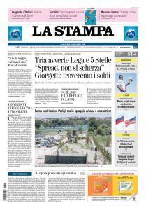 La Stampa Torino Provincia e Canavese - 4 Agosto 2018