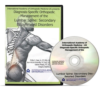 Diagnosis-Specific Orthopedic Management of the Lumbar Spine DVD 2 [repost]