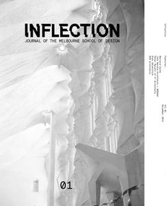 «Inflection 01 : Inflection» by Bernard Cache,John Wardle Architects,NADAAA,Peter Malatt