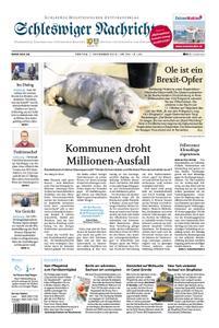Schleswiger Nachrichten - 01. November 2019