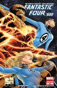 Fantastic Four 600 2012 2 covers digital
