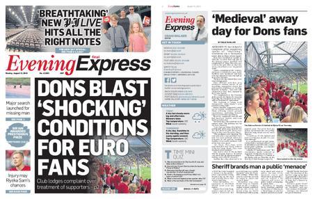 Evening Express – August 12, 2019
