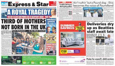 Express and Star City Edition – September 01, 2018
