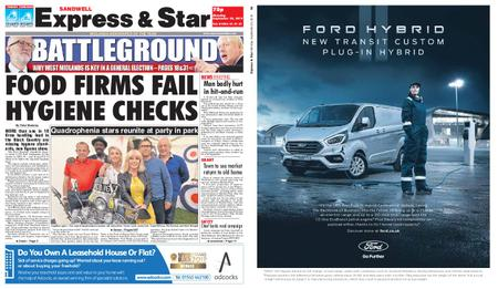 Express and Star Sandwell Edition – September 23, 2019