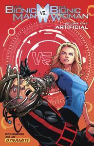 Dynamite-The Bionic Man Vs The Bionic Woman 2020 Hybrid Comic eBook