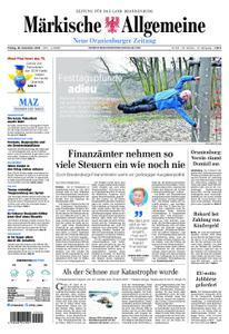 Neue Oranienburger Zeitung - 28. Dezember 2018