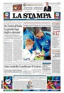 La Stampa Torino Provincia e Canavese - 25 Ottobre 2017
