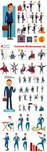 Vectors - Cartoon Businessman 55