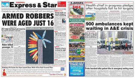 Express and Star Sandwell Edition – January 05, 2018