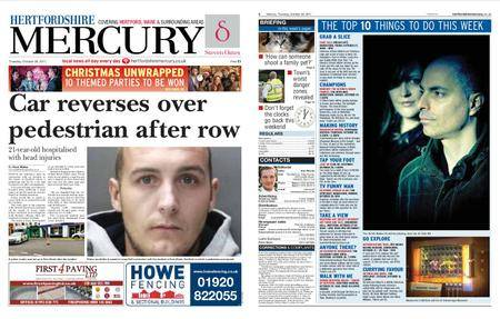 Hertfordshire Mercury – October 26, 2017