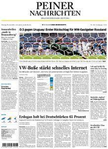 Peiner Nachrichten - 26. Juni 2018