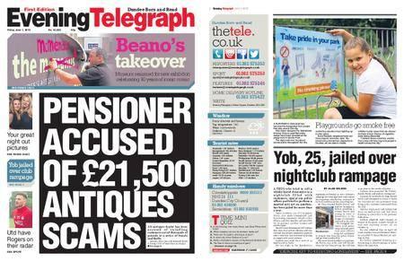 Evening Telegraph First Edition – June 01, 2018