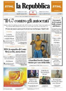 la Repubblica - 14 Giugno 2021