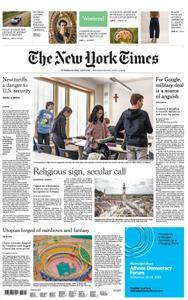 International New York Times - 02 June 2018