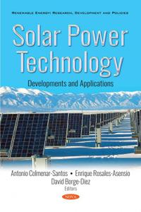 Solar Power Technology: Developments and Applications