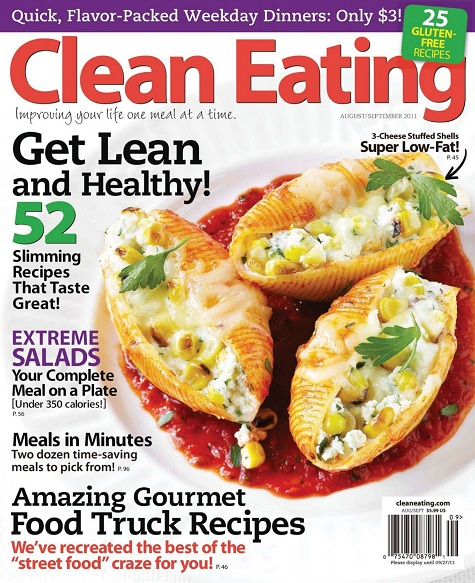 Clean Eating - August/September 2011