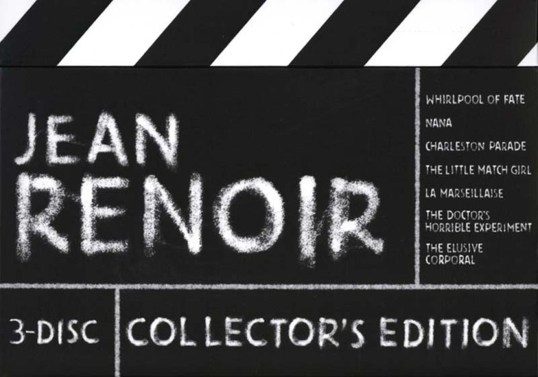 Jean Renoir - 3-Disc Collector's Edition (1925-1962) [Re-UP]