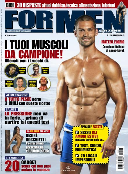 For Men Magazine - Agosto 2019