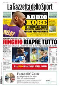 La Gazzetta dello Sport Bergamo – 27 gennaio 2020