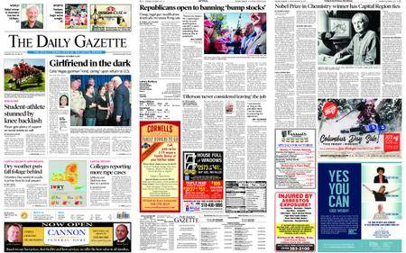 The Daily Gazette – October 05, 2017