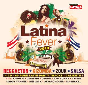 VA - Latina Fever  (4CD, 2019)