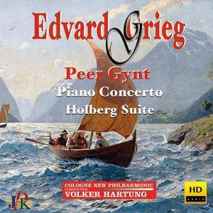 Volker Hartung, Haijie Wang & Cologne New Philharmonic Orchestra - Grieg: Peer Gynt Suites, Piano Concerto & Holberg Suite (201