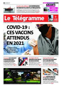 Le Télégramme Brest – 16 novembre 2020
