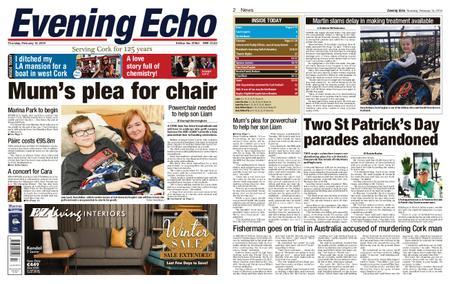 Evening Echo – February 14, 2019