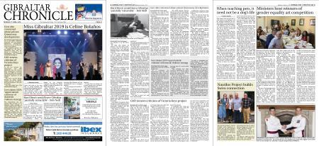 Gibraltar Chronicle – 03 June 2019