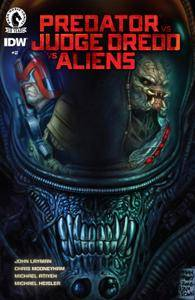 Predator vs Judge Dredd vs Aliens 002 2016 2 covers digital The Magicians-Empire