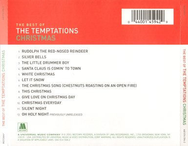 Temptations Christmas.The Temptations The Very Best Of The Temptations Christmas