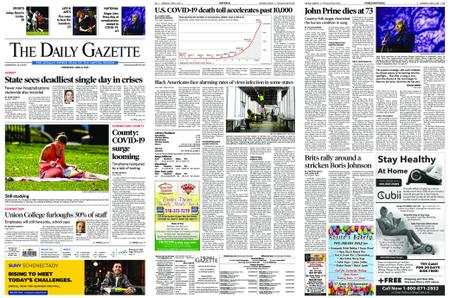 The Daily Gazette – April 08, 2020