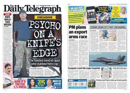 The Daily Telegraph (Sydney) – January 29, 2018