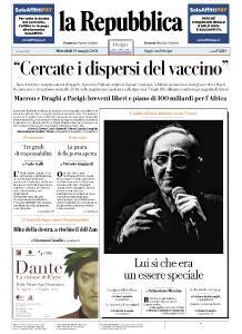 la Repubblica - 19 Maggio 2021
