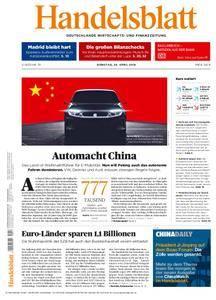 Handelsblatt - 24. April 2018