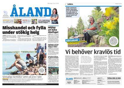 Ålandstidningen – 23 juli 2018
