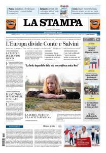 La Stampa Torino Provincia e Canavese - 6 Giugno 2019