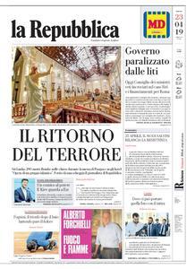 la Repubblica – 23 aprile 2019
