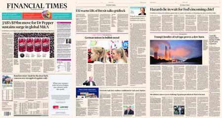 Financial Times Europe – 30 January 2018