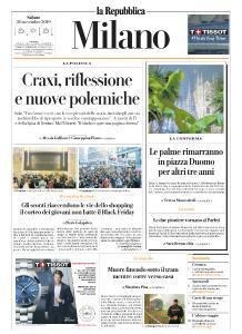 la Repubblica Milano - 30 Novembre 2019