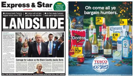 Express and Star Sandwell Edition – December 13, 2019