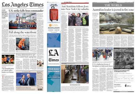 Los Angeles Times – January 03, 2020