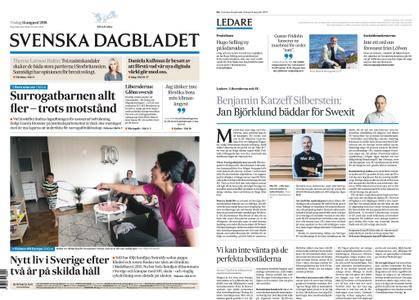 Svenska Dagbladet – 14 augusti 2018