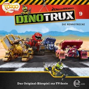 «DinoTrux - Folge 9: Die Rennstrecke» by Thomas Karallus