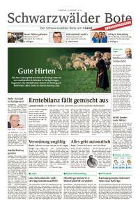 Schwarzwälder Bote Blumberg - 24. August 2019